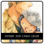 Father and Child Grass